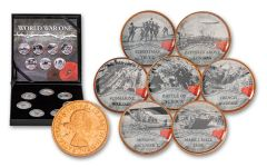 World War I Cold Enamel 7-pc Collection