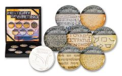 Cold Enamel Collection: History of Writing 7-pc Uncirculated Set