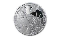 2020 1-oz Silver True Patriot Tribute Reverse Proof