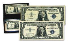 1957 $1 Silver Certificate Star/Non-Star 2-pc Set