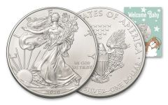 2020 $1 1-OZ SILVER EAGLE BU NEW BABY