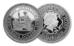 2020 Niue 1-oz Silver French Trade Dollar Proof