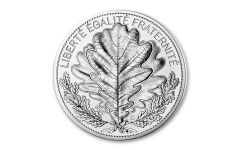 2020 France €20 18-gm Silver Nature of France – The Oak Proof