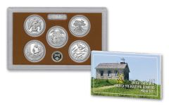 2020-S America The Beautiful 5-Piece Quarters Proof Set