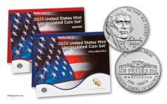 2020-P&D U.S. Mint Set w/2020-W Jefferson Nickel