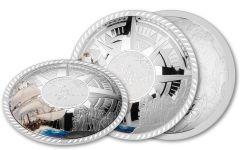 2020 Solomon Islands $5 50-Gram Silver Mayflower Plateau Proof