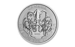2020 Canada $10 2-oz Silver Creatures of the North Kraken BU