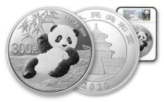 2020 China 1-Kilo Silver Panda NGC Gem Proof First Releases w/Shenyang Mint Identification & Lina Signature