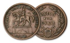 1861–1864 Civil War Token F–VF