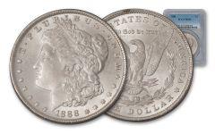 1888-P $1 Morgan Silver Dollar NGC/PCGS MS64