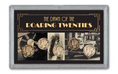 1916–1920-S Mercury Dime First Five Set VG–F