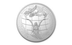 2020 Australia $5 1-oz Silver 75th Anniversary of WWII Proof