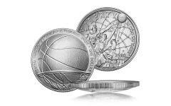 2020-P $1 Silver Basketball Hall of Fame BU