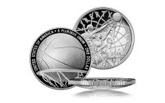 2020-P $1 Silver Basketball Hall of Fame Proof