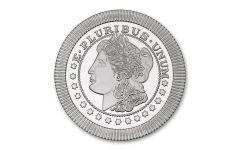 SilverTowne 1-oz Silver Stackables Morgan Dollar Replica BU