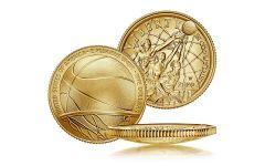 2020-W $5 Gold Basketball Hall of Fame BU