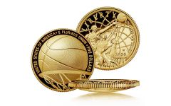 2020-W $5 Gold Basketball Hall of Fame Proof