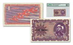 1969-1970 Vietnam Series 681 MPC $1 Note PMG 65 EPQ
