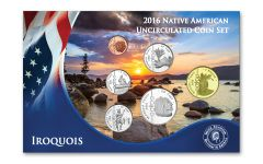 6PC 2016 NATIVE AMERICAN IROQUOIS TRIBE BU SET