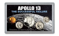 5PC 1970 1C TO 50 APOLLO 13 PROOF COIN SET