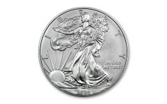 2020-W $1 1-oz Burnished Silver Eagle BU