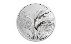 2020 Mongolia 1-oz Silver Majestic Eagle Ultra High Relief Proof