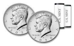 2020-P&D Kennedy Half Dollar 2-Roll Set