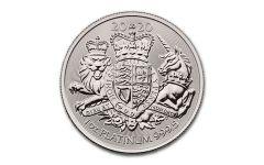 2020 Great Britain £100 1-oz Platinum Royal Arms Coin BU