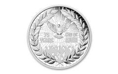 AUS 2020 $1 1-OZ SILVER WWII 75TH ANNIVERSARY PF