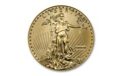 Random Date $50 1-oz Gold Eagle BU