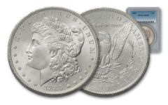 1885-P Morgan Silver Dollar NGC/PCGS MS65