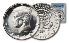 1964-P Silver Kennedy Half Dollar PCGS PR69