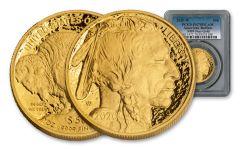 2020-W $50 1-oz Gold Buffalo PCGS PR70DC