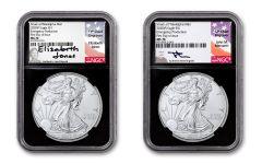 2PC 2020(P) $1 SLV EAG PHILLY NGCMS70FDI MER/JO BC