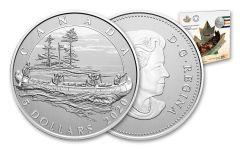 2020 Canada $5 1/4-oz Silver 350th Anniversary of Hudson's Bay Company Specimen