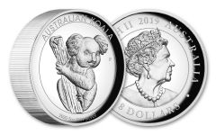 2020 Australia $8 5-oz Silver Koala High Relief Proof