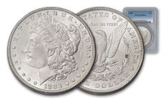 1883-P $1 MORGAN NGC/PCGS MS64