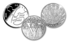 2020 Silver 75th Anniversary of VE Day 3-pc Proof Set