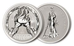2020 2OZ SILVER FLAME FREEDOM UHR REV PROOF