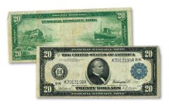 1914 $20 Federal Reserve Note VF