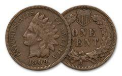1909-P 1 CENT INDIAN VG-FINE