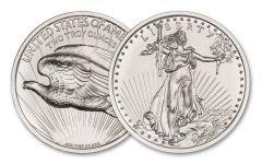 Intaglio Mint 2-oz Silver $20 Saint-Gaudens MCMVII High Relief Tribute Gem BU