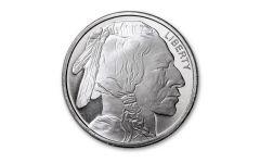 SilverTowne Mint 1-oz Silver Buffalo Round Gem BU