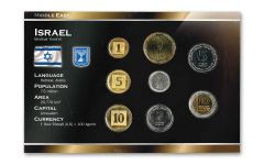Israel World Coin Set Uncirculated Blister Pack