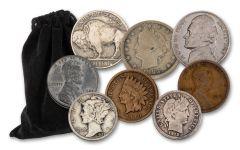 1864–1958 Vintage Banker's Bag 100-pc Set G–VG