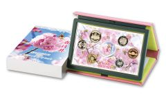 7-PC JAPAN 2020 CHERRY BLOSSOM PROOF COIN SET