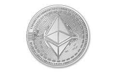 CHAD 2020 5000CFA 1OZ SILVER ETHEREUM CRYPTO BU