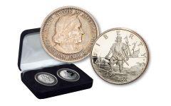 1892/1893–1992 Columbus Commemorative 2-pc Set
