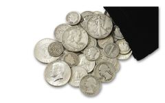 Quarter-Pound Bag of Vintage U.S. Silver Coins
