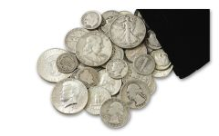 "1892–1964 Quarter-Pound Bag of ""Classic"" U.S. Silver"
